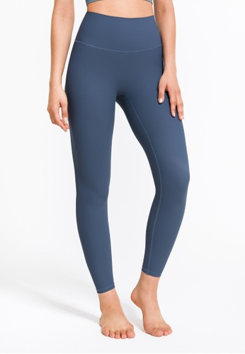 HAPPY FRIDAYS High Waist Nude Yoga Tights (No front crotch line) DSG-DS31 F878FAA90FBAD1GS_1