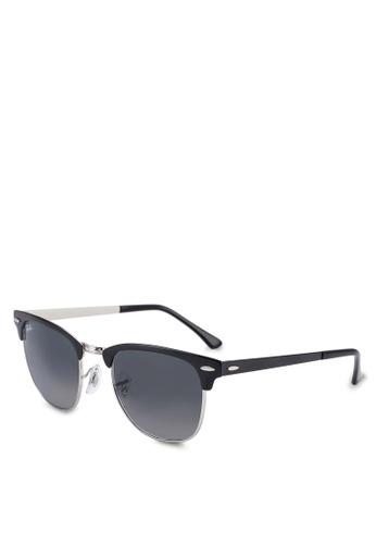 23dbdd6c16 Ray-Ban black Square RB3716 Sunglasses 1AE19GL4EA6005GS 1