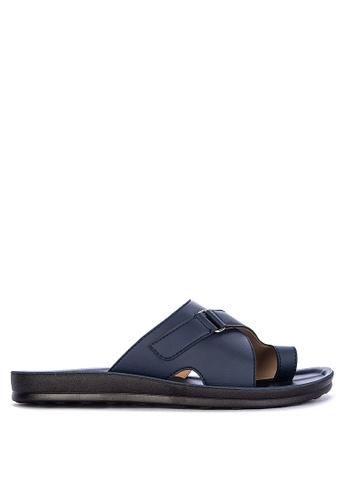 H2Ocean blue Aido Toe Band Thong Sandals 4A1ABSH76458BAGS_1
