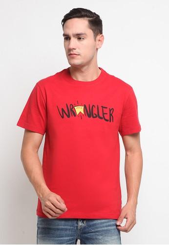 Wrangler red Short Sleeve Edmun6A21 8F790AA1BFC50CGS_1