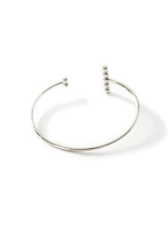 Gung Jewellery silver Jada Bubbly Cuff in Silver B0CE0AC26616EEGS_1