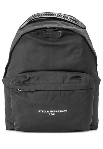 STELLA MCCARTNEY black Pre-Owned Stella McCartney Go Backpack 13CCDAC8AD7547GS_1