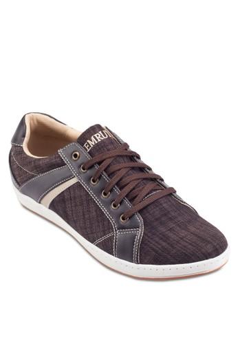 esprit 品牌丹寧繫帶運動鞋, 鞋, 鞋