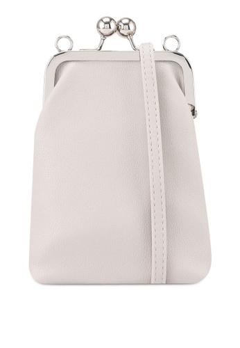 Keddo grey Rosa Sling Bag 35088ACA66242CGS_1
