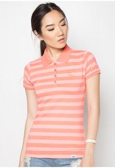Ladies Stripes Polo Tees