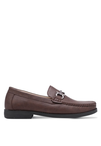 Albertini brown Buckle Shoes AL779SH0SDUZMY_1