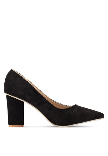 Sunnydaysweety 2018 新款黑色經典尖頭高跟鞋 RA10116 70F51SHC9C6CC4GS_1