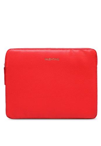 VALENTINO by Mario Valentino red Superman Laptop Case 6EFCEACB524CB2GS_1