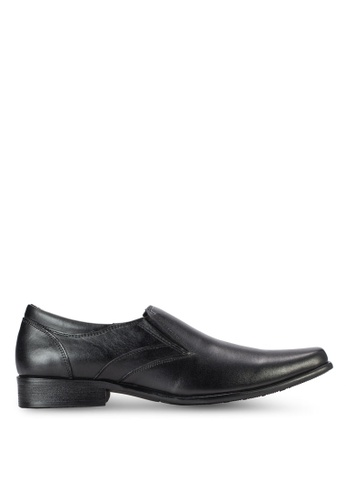 Spiffy black Business Shoes SP352SH72IOPMY_1