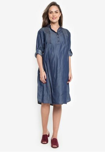 Nine Months blue Jessa Dress NI270AA0KKPEPH_1