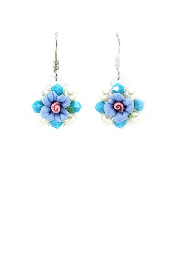 Glamorousky blue Trendy Earrings EBDBCACC22A867GS_1