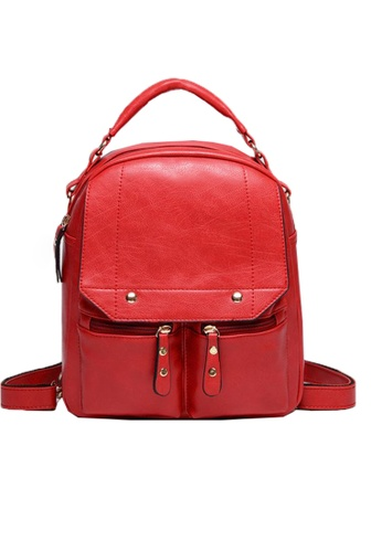 TCWK red Ladies Backpack TC258AC49TCWMY_1