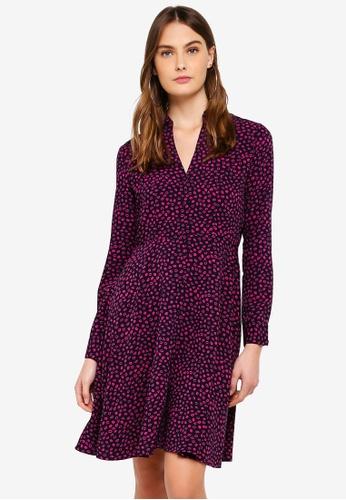 Vero Moda navy Kiss Short Shirt Dress E53E7AA0BF61DCGS_1