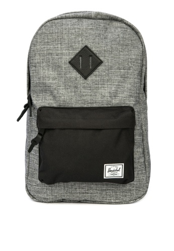 Herschel grey Heritage Mid Backpack B6C20AC515BAB1GS_1