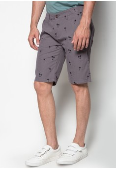 Full Print Walking Shorts