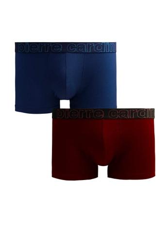 Pierre Cardin 多色 彈力棉四角褲 2入 PC4038-2S A310BUS2897204GS_1