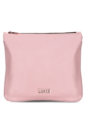 Luxie Beauty pink Luxie Travel Bag 6595BAC2D8C2D7GS_1