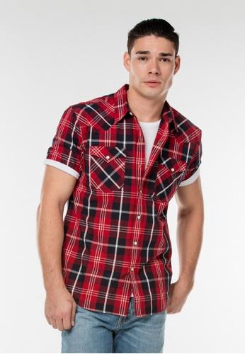Levi's red Short Sleeve Classic Western LE843AA0GFYUSG_1