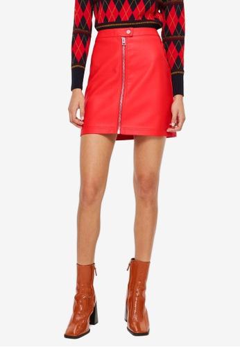 633d5dc332 Buy TOPSHOP Petite Pu Mini Skirt | ZALORA HK