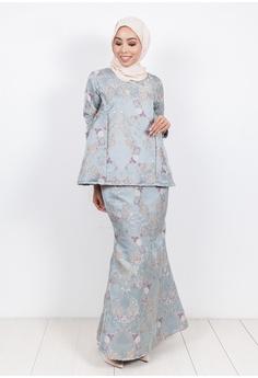 LosraVelda blue Marjita Kurung (Pacific Blue) EA27BAA11967B2GS 1 026b46cef0