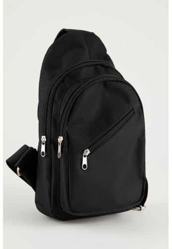 DeFacto black Man Shoulder Bag EBEB0ACD9D98F8GS_1