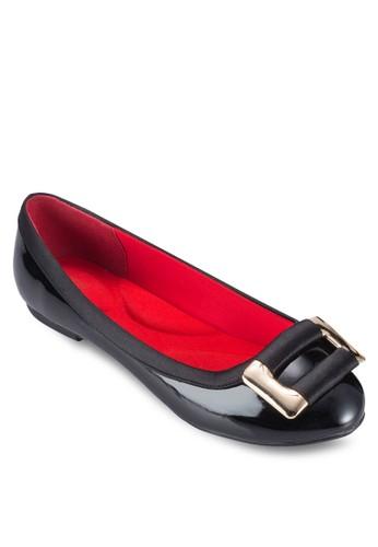扣環飾平底鞋, 女鞋,esprit outlet 高雄 鞋