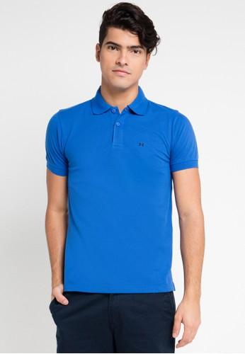 Hassenda blue Short Sleeve HA130AA0VPF1ID_1