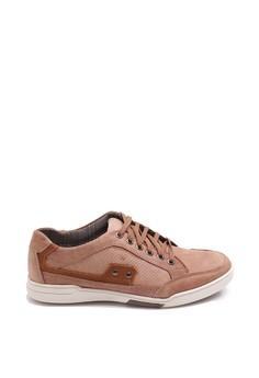 harga Dr. Kevin Stylish & Comfortable Men Sneaker 83145 - Brown Zalora.co.id