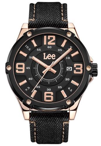 Lee Watches black LEE WATCH LEF-M128ARV1-1R JAM TANGAN PRIA 10BA4ACBEA3DF6GS_1