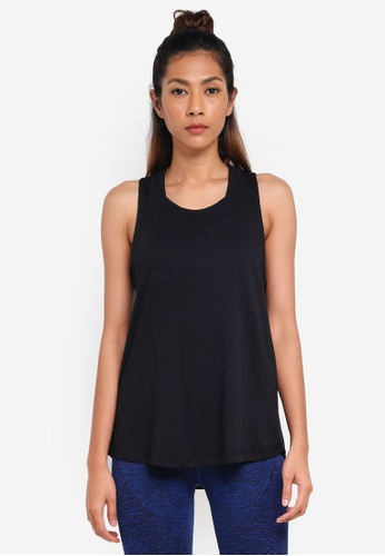 Cotton On Body black Scooped Knot Tank Top D4720AACD7F5FFGS_1
