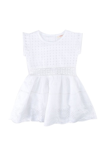 FOX Kids & Baby white Baby Girl Dress F1A5DKAD4B61F7GS_1