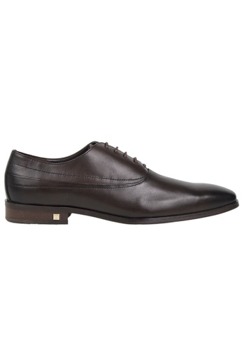 Tomaz brown Tomaz F999A Formal Lace Up (Coffee) 3B658SH3B5302AGS_1