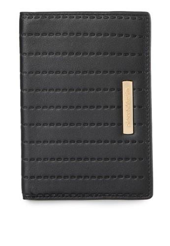 PIERRE CARDIN black Pierre Cardin Agra Col. 04 Passport Wallet - Black 07942AC80EE7F0GS_1