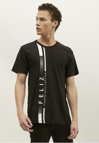 Woffi black Feliz T-Shirt Woffi Man 7A639AA1DD5FCCGS_1