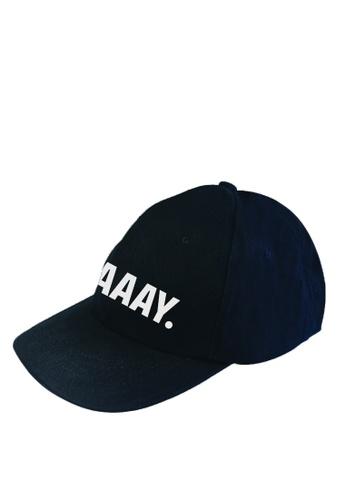 HYPE MNL blue Craaay Baseball Cap 769ABAC9178084GS_1