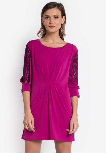 Verve Street purple Ruby Dress VE915AA0K9J2PH_1