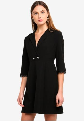 Vero Moda black Dora Dress 76683AA2D2DB65GS_1
