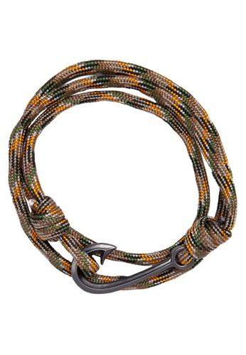 纏繞編繩鉤扣手環, 飾zalora 評價品配件, 手環