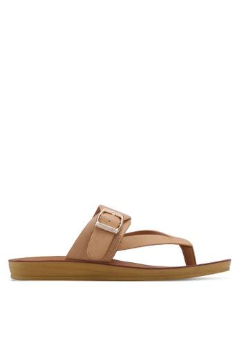 Noveni 褐色 Slide On Sandals 84E57SH81D8F51GS_1