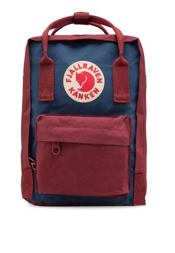Fjallraven Kanken red and blue Royal Blue-Ox Red Kanken Mini Backpack FJ859AC11WRKSG_1