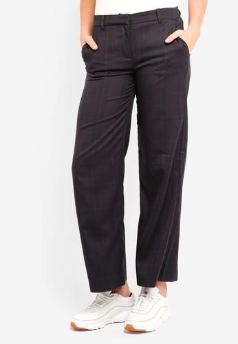 ICHI black Ciga Trousers 9CEBEAAA3BEA05GS_1
