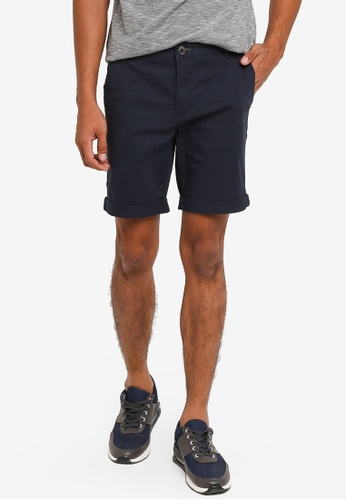 Selected Homme navy Paris Shorts 1DA4FAA3E2B823GS_1