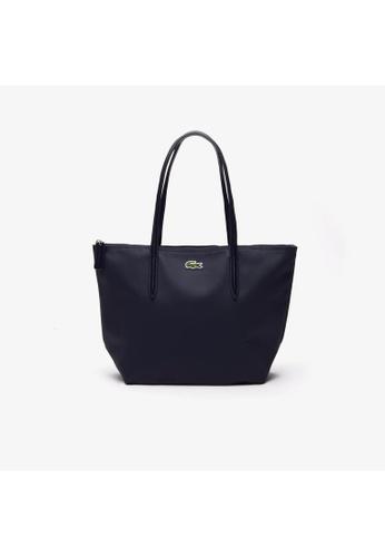 Lacoste black Lacoste Women's L.12.12 Concept Small Zip Tote Bag NF2037PO FF39CAC13051F7GS_1