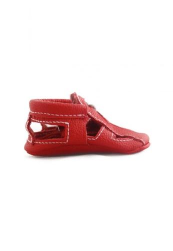 BEBEBUNDO red Crimson Sandals 095EDKSEB776B4GS_1