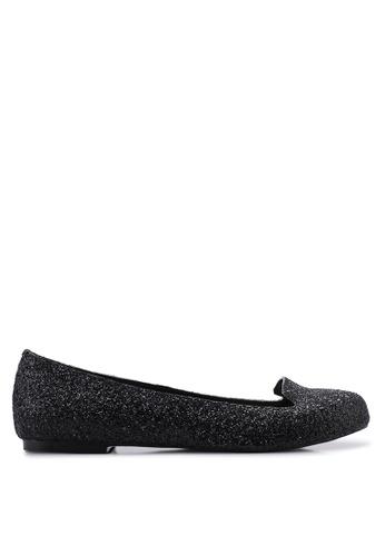 OCEEDEE 黑色 Mary Ballerina 平底鞋 11EF0SHB59B2EBGS_1
