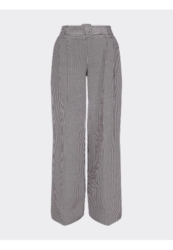 Tommy Hilfiger ZENDAYA HOUNDSTOOTH CHECK TROUSERS 9F7CCAAA4922A8GS_1