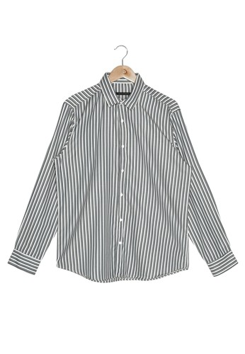 Trendyol green Long Sleeve Striped Shirt 2BDAFAADE9D20EGS_1