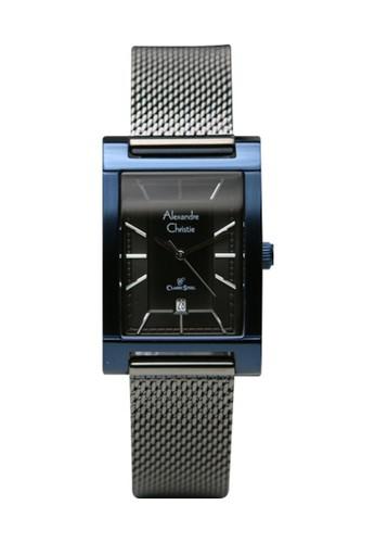 Alexandre Christie black and blue Alexandre Christie 2863 - Jam Tangan Wanita - Stainless Steel - Hitam Biru D62D9AC5B33EFCGS_1