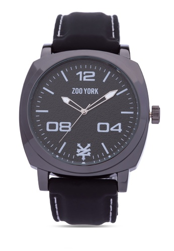 Zoo York black Analog Watch ZO541AC0IT19PH_1