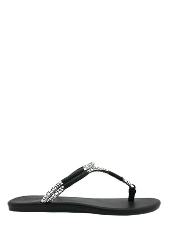 STEFANIA BALDO black Arianne Sandals ST294SH98PCJID_1